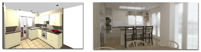 3D Visualisation Kitchen Design
