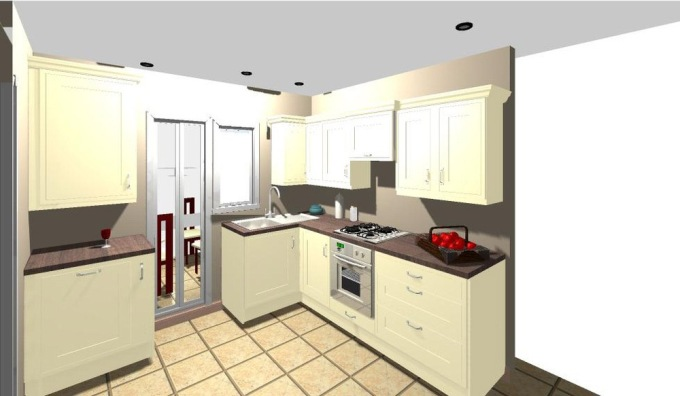 Not So Great 3D Visual - Kitchen