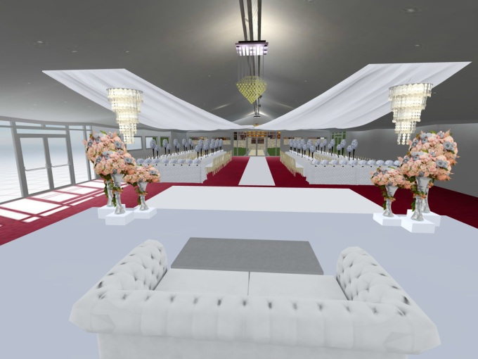 Not So Great 3D Visual - Wedding