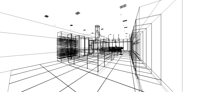 Poplar Kitchen Wireframe
