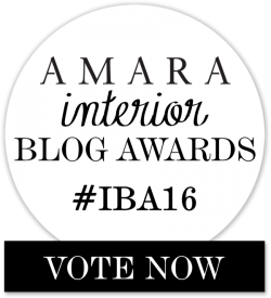 Amara Interior Blog Awards Vote