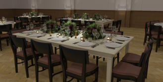 Photo-real 3D Visual - Royal Horticultural Halls